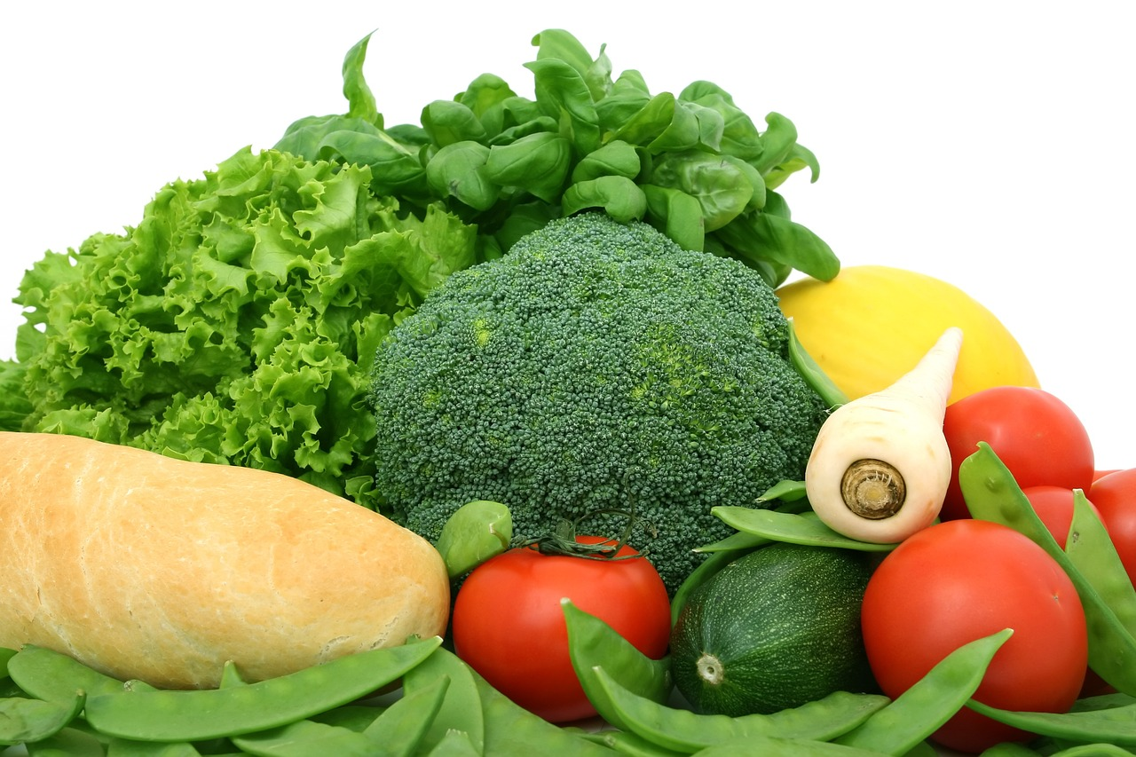 green veg including broccoli, tomatoes and leafy greens; The Best Food Items for Men Approaching 50: Part Three